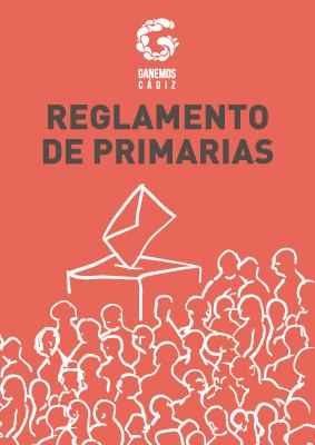Reglamento de Primarias de Ganemos Cádiz
