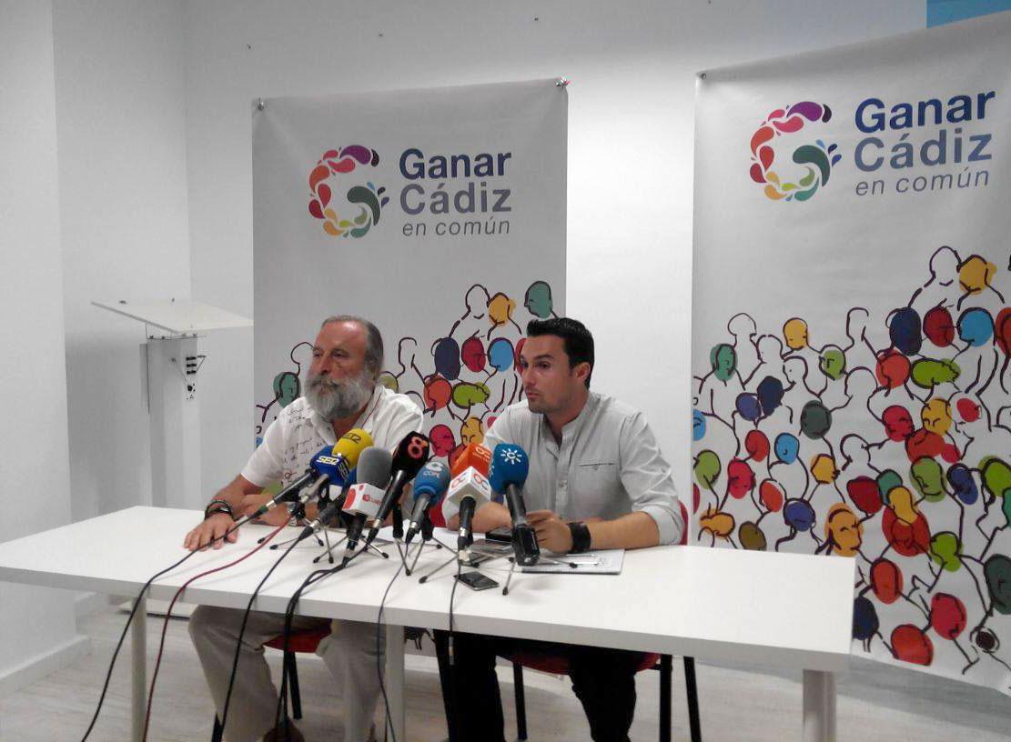 Ganar Cádiz en Común apoyará la investidura del candidato de Por Cádiz Sí Se Puede a la Alcaldía de Cádiz
