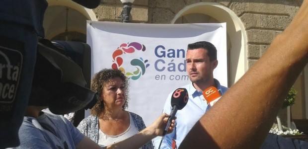 Ganar Cádiz celebra el sobreseimiento de la querella de Colombo tras el caso Matadero