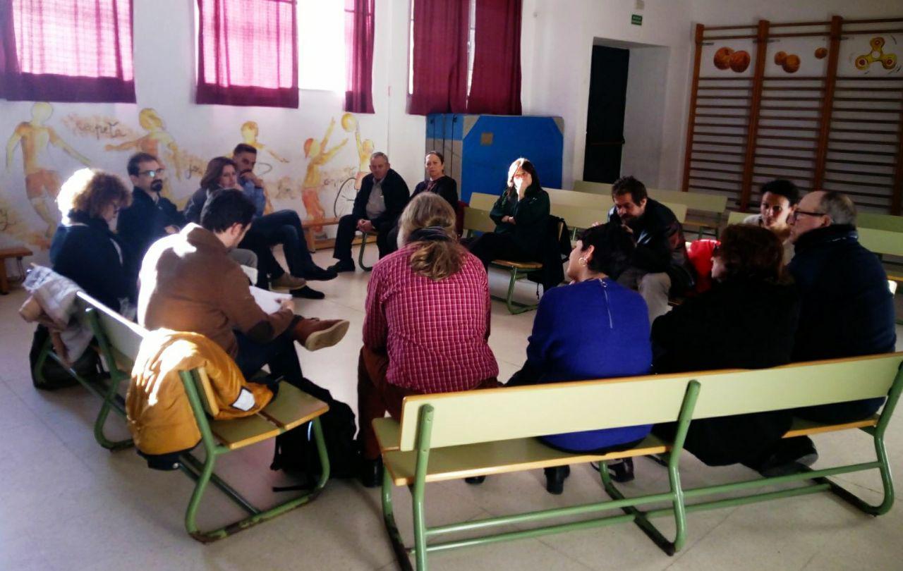Ganar Cádiz Escucha celebra su segundo encuentro en el barrio de San Carlos