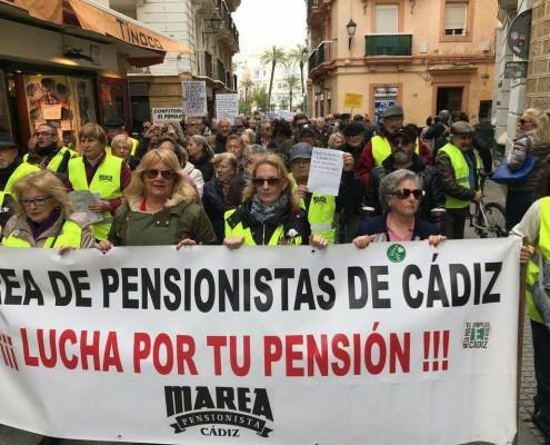 Marea de Pensionistas Cádiz