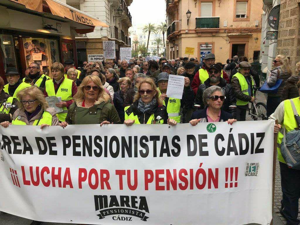 Entrevista a la Marea de Pensionistas de Cádiz