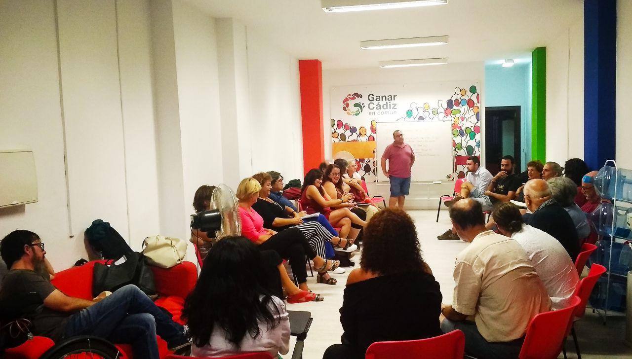 Ganar Cádiz comienza el proceso de análisis y mejora de su programa electoral