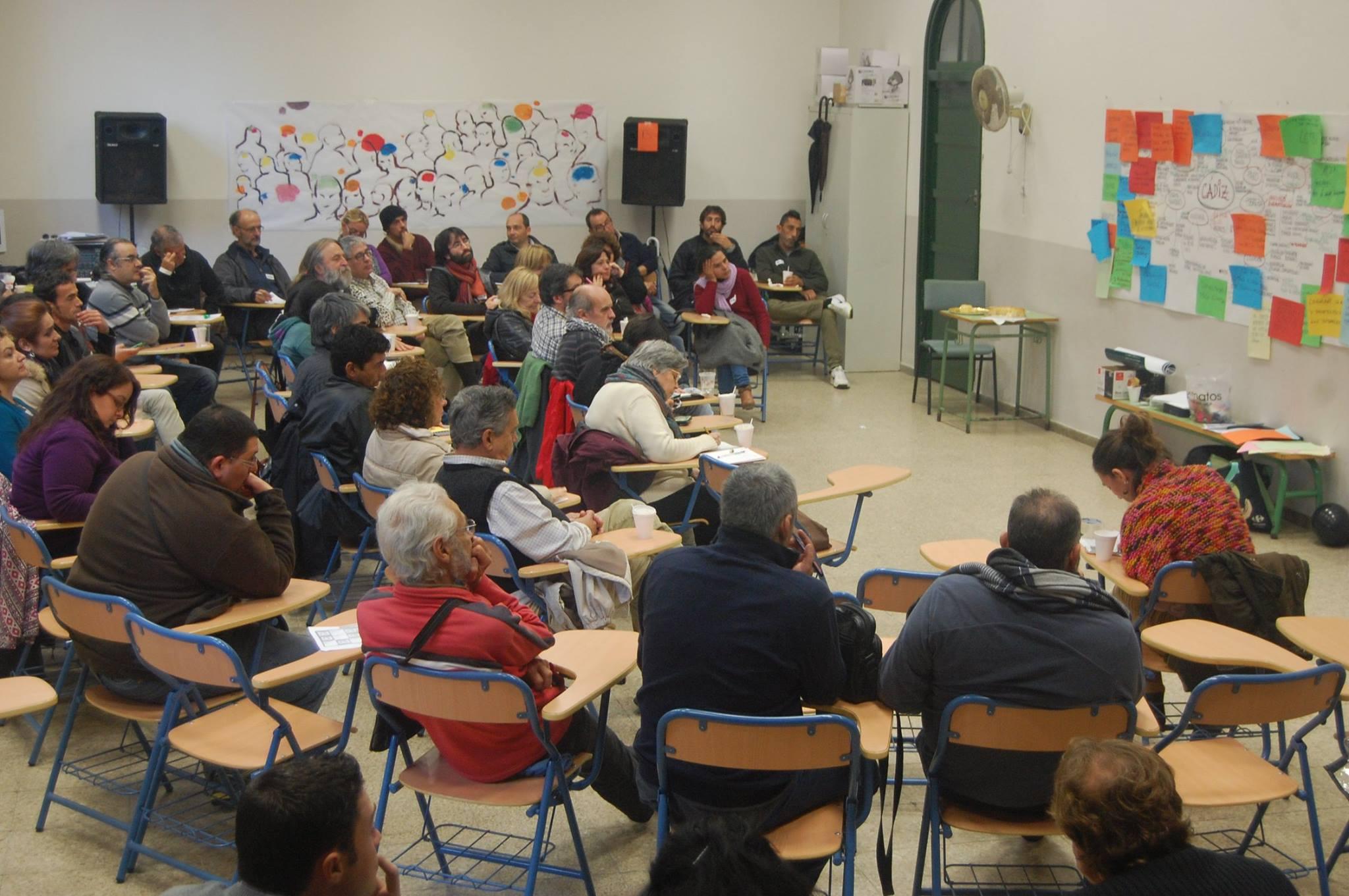 Ganar Cádiz elegirá el 13 de diciembre a la cabecera de su candidatura municipal