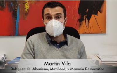 MARTÍN VILA: URBANISMO, MOVILIDAD, SERVICIOS MUNICIPALES Y MEMORIA DEMOCRÁTICA. RENDICIÓN DE CUENTAS.