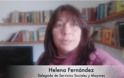 Helena Fernández: SERVICIOS SOCIALES Y MAYOR. Rendición de cuentas.