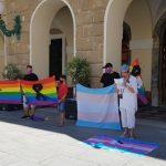 Concentración en repulsa al asestinato homófobo perpetrado en galicia